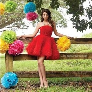 Pearl by Georgina Chapman of Marchesa Red Dress